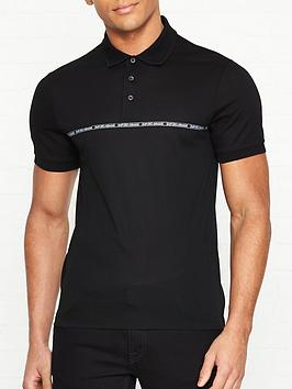 emporio-armani-logonbsptape-print-polo-shirt-black