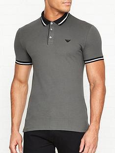 emporio-armani-contrast-collar-polo-shirt-grey