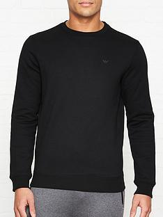 emporio-armani-logo-detail-sweatshirt-black