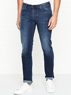 emporio-armani-j06-washed-slim-fit-jeans-blue