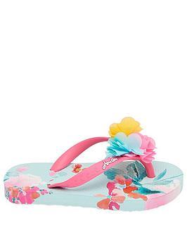 joules-girls-3d-flowers-flipflops