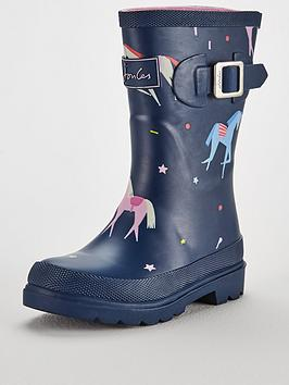 joules-girls-unicorn-welly