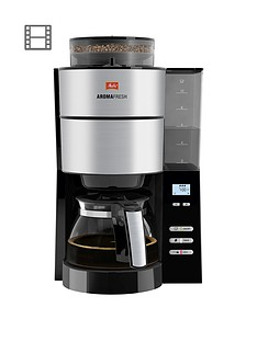Melitta Melitta Aromafresh Grind and Brew Filter Coffee Machine 1021-01