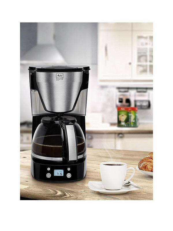 Easy Top Timer Black Filter Coffee Machine 1010 15