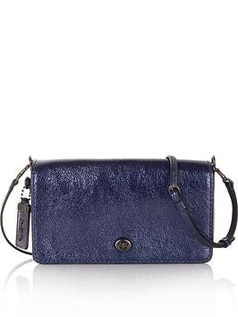 coach-metallic-dinky-cross-body-bag--nbspnavy