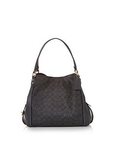 coach-coated-canvas-signature-edie-31-shoulder-bag--nbspblack