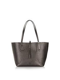 coach-metallic-leather-market-tote-bag-dark-grey