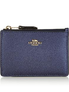 coach-metallic-mini-skinny-id-card-holder-dark-blue