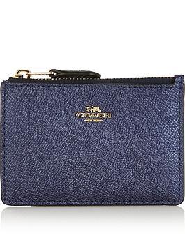 coach-metallic-mini-skinny-id-card-holder-dark-blue