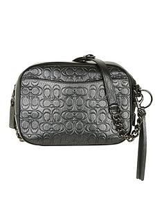 coach-metallic-signature-leather-camera-bag-dark-grey