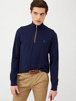polo-ralph-lauren-golf-terry-half-zip-midlayer-top-french-navy