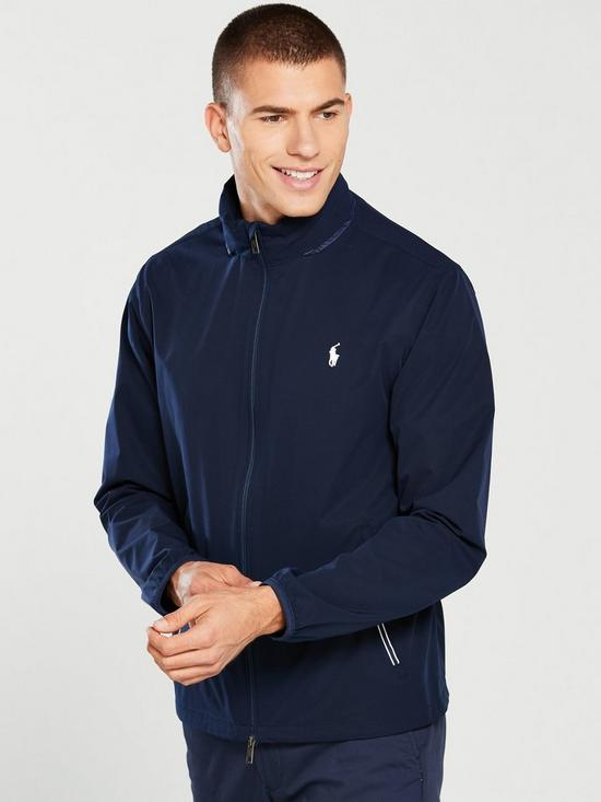 0556919ea Polo Ralph Lauren Golf Hooded Stretch Anorak - French Navy