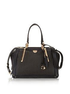 coach-dreamer-shoulder-bag-with-quilting-and-rivets-black