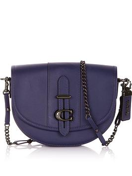 coach-small-glove-tanned-leather-saddle-bagnbsp--navy