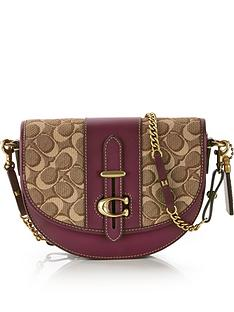 coach-small-signature-glove-tanned-leather-saddle-bag-tanburgundy