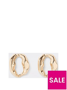 river-island-river-island-circle-statement-stud-earring-gold