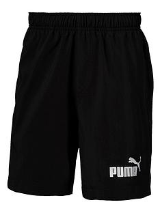 puma-older-boys-woven-shorts