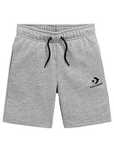 converse-boys-stacked-wordmark-shorts-dark-grey
