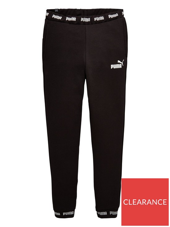 2cd9776868c0a Older Girls Amplified Track Pants - Black