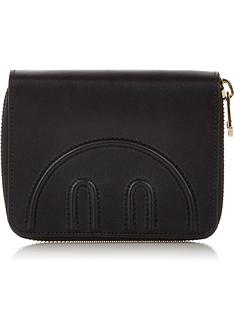 hill-friends-hide-and-seek-medium-zip-around-purse-black