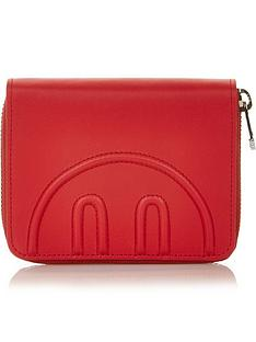 hill-friends-hide-and-seek-medium-zip-around-purse-red