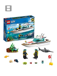 LEGO City 60221 Diving Yacht Best Price, Cheapest Prices