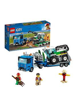 LEGO 60223 City Great Vehicles Harvester Transport Construction Set, Toy Truck and Minifigures, Farm Toys for Kids Best Price and Cheapest