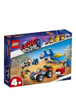 the-lego-movie-2-70821nbspemmet-and-bennys-lsquobuild-and-fix-workshop
