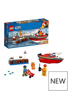LEGO City 60213 Dock Side Fire