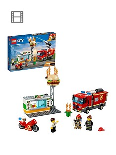LEGO City 60214 Burger Bar Fire Rescue Best Price, Cheapest Prices