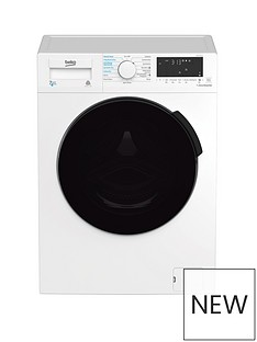 Beko WDB7426R1W 7Kg/4kg 1200 Spin Washer Dryer - White