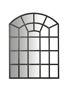 ideal-home-black-window-mirror