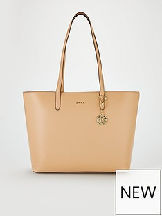 dkny-bryant-large-tote-bag-nude