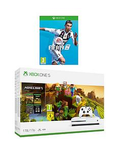 xbox-one-s-minecraft-holiday-1tbnbspconsole-bundle-with-fifa-19-and-optional-extras