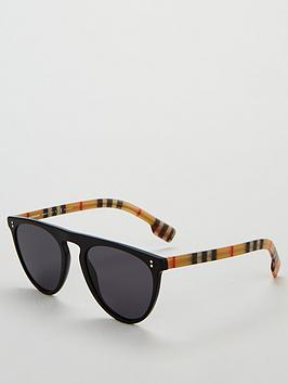 burberry-pilot-black-sunglasses