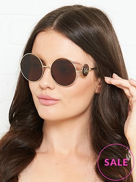 dolce-gabbana-round-gold-sunglasses-gold