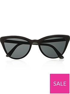 prada-oversizednbspcat-eye-sunglasses--nbspblack