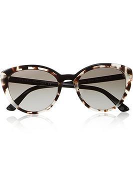 prada-spotted-cat-eyenbspsunglasses--nbspbrownblack