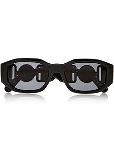 versace-irregular-rectangle-sunglasses-black