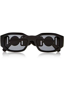 versace-irregular-rectangle-sunglasses-black