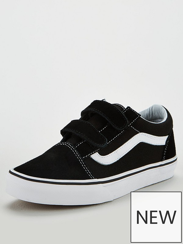 old skool vans velcro