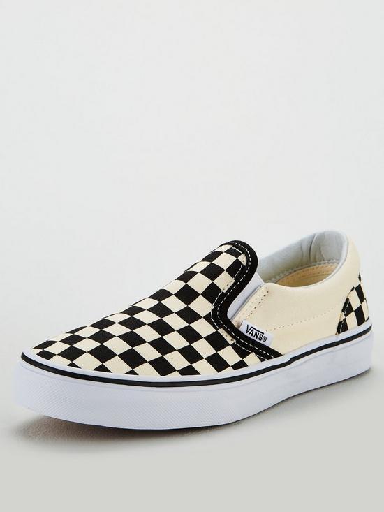 96d3642ab156 Vans Checkerboard Classic Slip-on