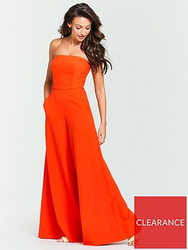 michelle-keegan-crepe-bandeau-wide-leg-jumpsuit-orange