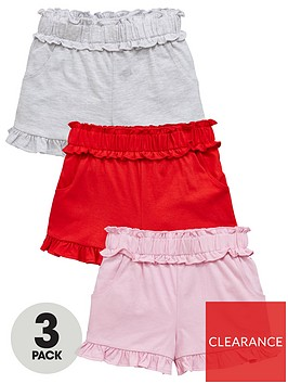 mini-v-by-very-girls-3-pack-shirred-waist-shorts-multi