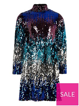 river-island-girls-multi-sequin-high-neck-shift-dress