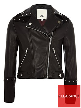 river-island-girls-black-faux-leather-studded-jacket