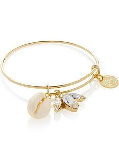 anton-heunis-shell-and-swarovski-crystal-charm-bangle-gold