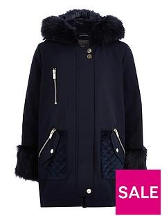 river-island-girls-navy-faux-fur-trim-parka-jacket