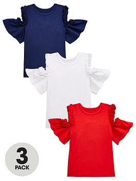 mini-v-by-very-girls-3-pack-frill-trim-cold-shoulder-tops-multi