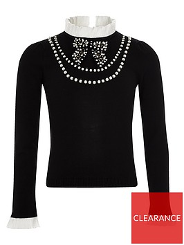 river-island-girls-black-frill-pearl-embellished-jumper
